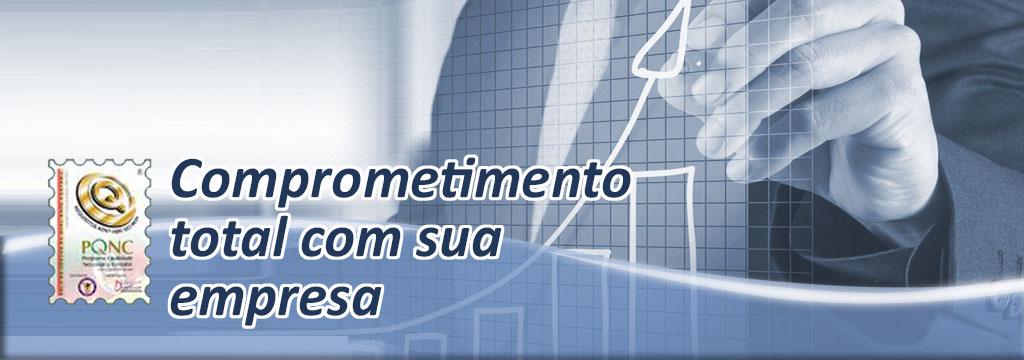 Banner Comprometimento Total com Sua Empresa
